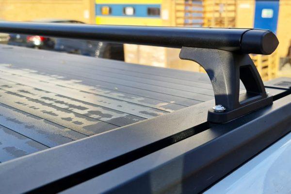 EGR Roller Shutter Black Cross Bars Fits Tonneau Cover