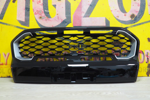 Ford Ranger Wildtrak Ultimate Stealth Gloss Finish Grille Replacement with Inserts