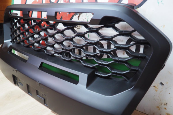 Ford Ranger Wildtrak Gloss Grille Upgrade with Coloured Inserts