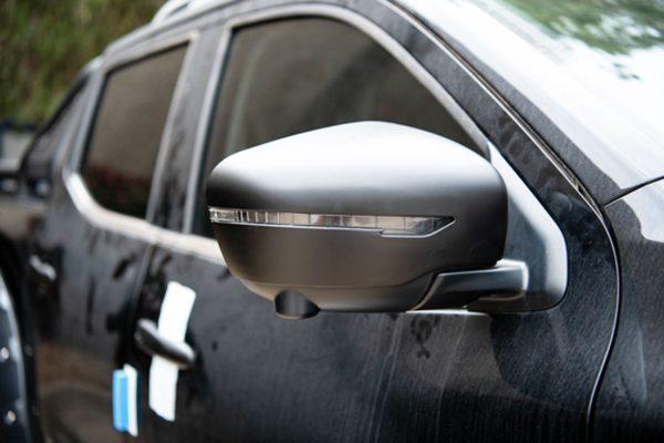 Nissan Navara NP300 Mirror Covers - Standard Black - Pair