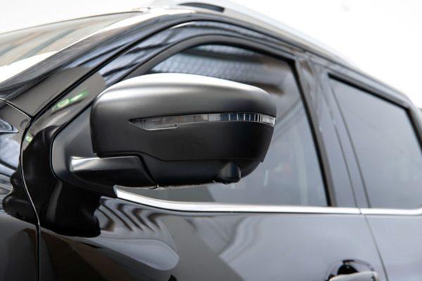 Nissan Navara NP300 Wing Mirror Covers Protector Guards Black