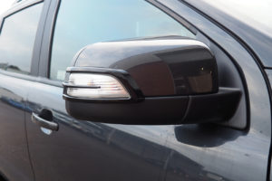 Ford Ranger Wing Mirror Indicator Surround Covers Gloss Black Finish