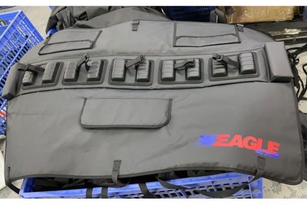 VW Amarok Tailgate Bike Pad Guard