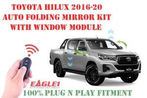 Toyota Hilux Revo Auto Folding Mirror Module and Window Module Combo
