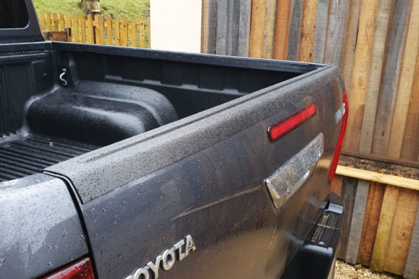 Toyota Hilux Tailgate Cap Over Rail