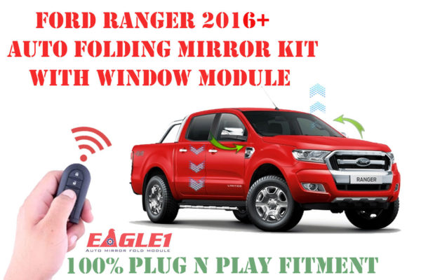 Ford Ranger Eagle1 Auto Folding Mirror Module and Window Module Combo