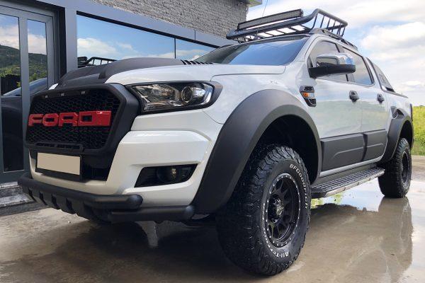 Ford Ranger Jump Wheel Arches