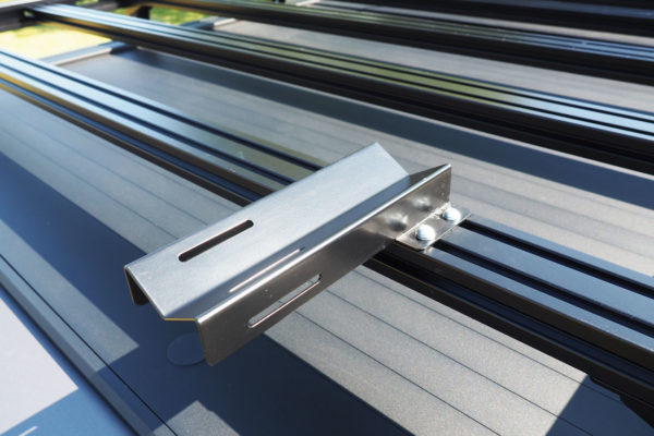 Ford Ranger Roof Rack Five Bars Fits with Roller Shutter Covers