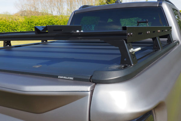 Ford Ranger Roof Rack Bars Fits with Roller Shutter Tonneau Cover