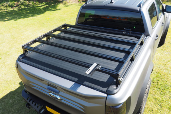 Toyota Hilux Roof Rails Bars for Extra Storage Roller Shutter Covers