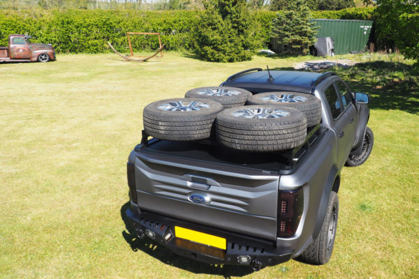 Toyota Hilux Roof Racks Bars External Storage to fit Roller Shutters