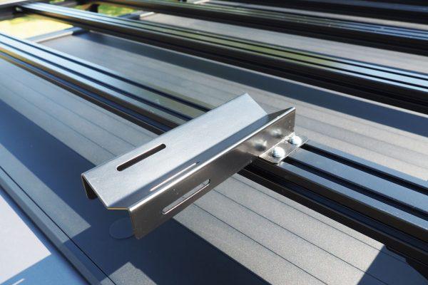 Ford Ranger Wildtrak Mountaintop Roller Shutter Roof Rails Rack Bars