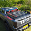 Ford Ranger Wildtrak Roller Shutter Roof Rail Bars Rack Load Bed Storage