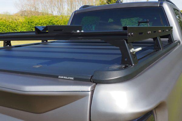 Ford Ranger Wildtrak Roller Shutter Roof Bars Load Bed Rack