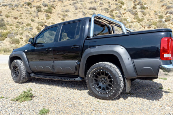 VW Amarok Body Cladding Upgrade Kit Protection Matte Black