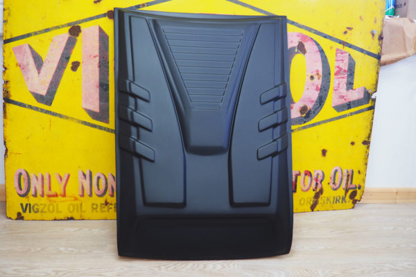 Nissan Navara NP300 Large Black Bonnet Scoop Guard Aggressive Accessories