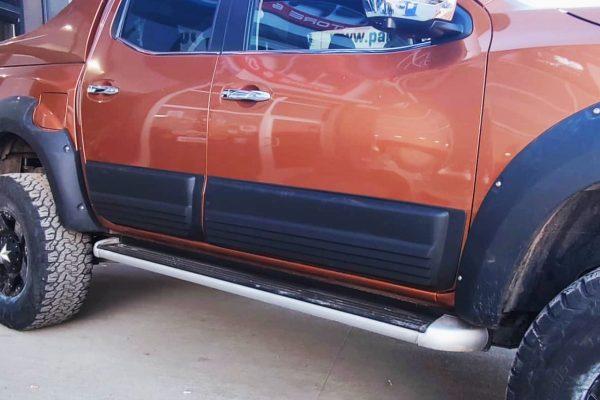 Nissan Navara NP300 Body Cladding Panels Black Aggressive Bulk Style