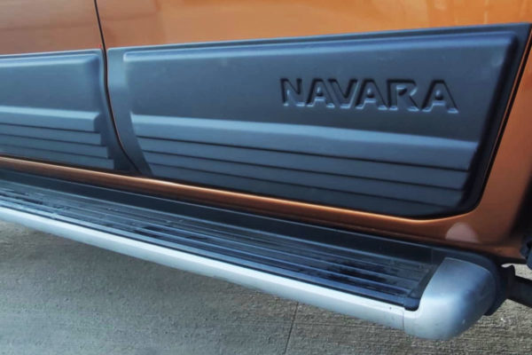 Nissan Navara NP300 Side Body Cladding Panels Black 4pc Bulk Aggressive Upgrade Part