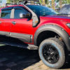 Ford Ranger Wildtrak 2019 Wide Set Wheel Arch Extensions Bulky Rocky Style Black