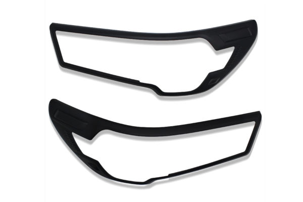 Toyota Hilux 2021+ Matte Black Finishing Styling Trim Guard Cover Surrounds