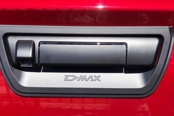 Isuzu Dmax 2021 Tailgate Surround Cover Black Styling Trim