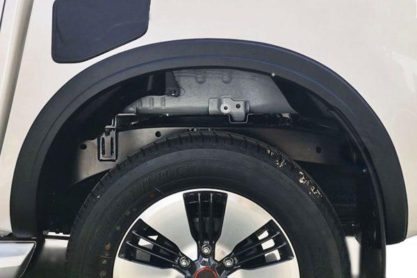 Isuzu Dmax 2021 Slim Fit Wheel Arch Extension Upgrades Fender Flares Matte Black Finish