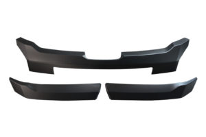 Mitsubishi L200 Series 6 Black Front Grille Trim Styling Accessory