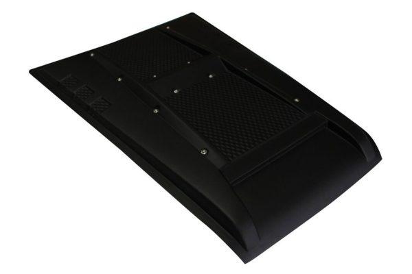 Ford Ranger 2016+ Bolt Style Bonnet Scoop Standard Black Finish Styling Trim Accessory