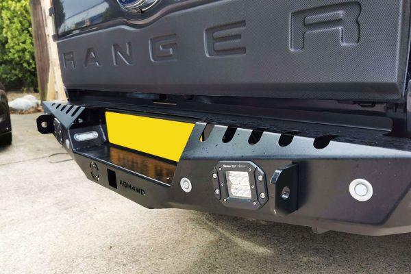 Isuzu Dmax 2021+ Rear Bumper Full Upgrade Enhancement Off Road Winch Style Accessory