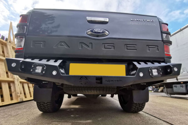 Isuzu Dmax 2021+ Off Road Winch Style Rear Bumper Upgrade Replacement