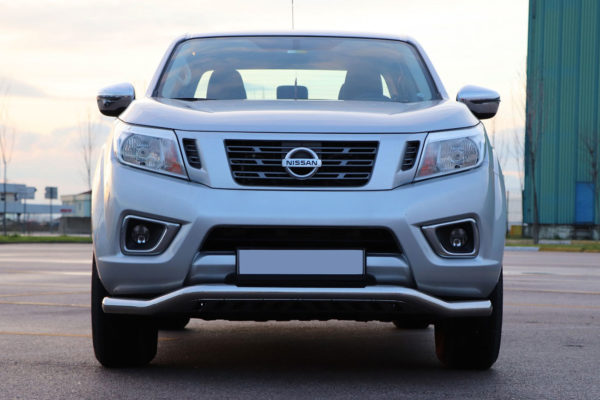 Isuzu Dmax 2021+ Stainless Steel Spoiler Front Bar Twisted Rhino Style Impact Resistant