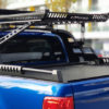 Isuzu Dmax 2021+ Black Combat Roll Bar and Roof Basket Storage Combo