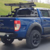 Isuzu Dmax 2021+ Combat Roll Bar and Roof Basket Combo Aggressive Style