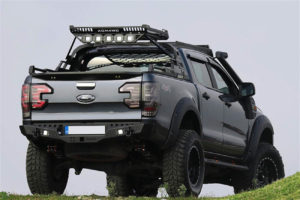Universal Light Set LED Pods for Combat Roll Bar and Roof Basket COMBO Upgrade