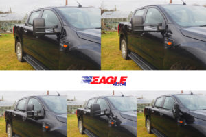 Isuzu Dmax 2021+ Extendable Towing Mirrors Blind Spot Mirror for Towing Caravans and Cars