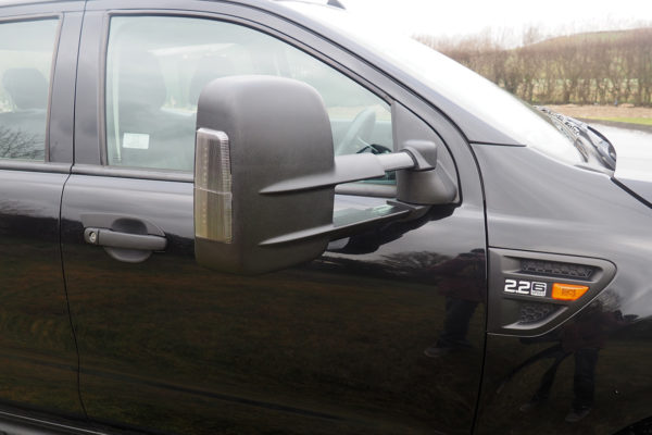 Isuzu Dmax 2021+ Extendable Towing Mirrors with Indicator and Blind Spot Mirror Plug N Play Fitment