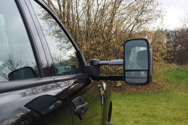 Isuzu Dmax 2021 Extendable Towing Mirrors with Indicator for Car and Caravan Towing