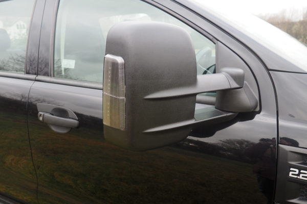 Isuzu Dmax 2021+ Extendable Wing Mirrors for Towing Car Caravan