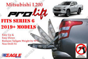 Mitsubishi L200 Series 6 Tailgate Assistance Damper Weight Reduction