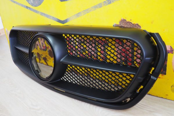 Mercedes X Class Satin Black Finish Front Grille Replacement Upgrade Styling Trim