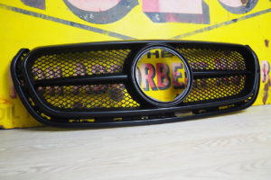 Mercedes X Class Front Grille Upgrade Styling Trim Satin Black